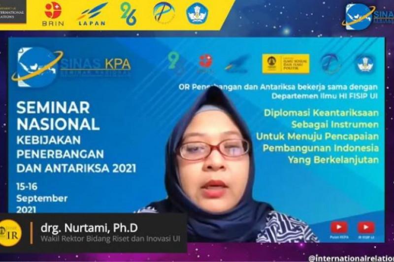 Kolaborasi kunci mencapai riset dan inovasi berkualitas, kata Wakil Rektor UI