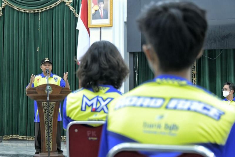 Wagub Uu minta tim balap motor Jabar tampil maksimal dalam PON XX Papua