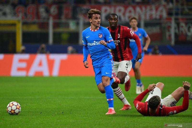 Atletico Madrid menang dramatis 2-1 atas AC Milan