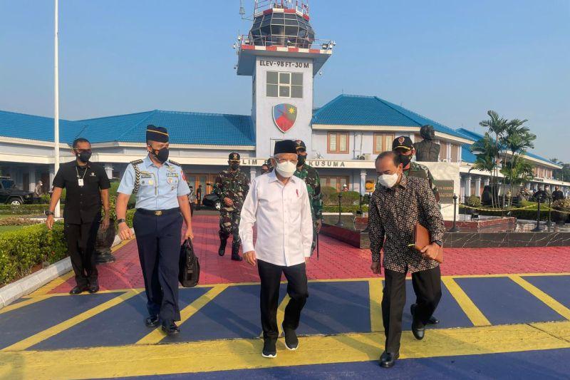 Wapres Ma'ruf lakukan kunjungan kerja ke Jawa Barat