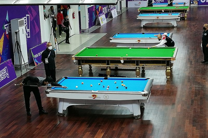 Dhendy Krhistanto tambah emas Jabar melalui biliar snooker