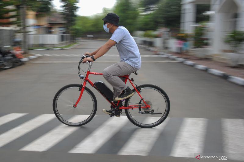 antarafoto inovasi sepeda listrik di bandung 071021 rai 7 - SatuPos.com