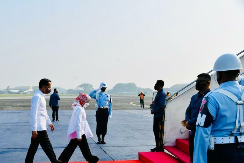 Presiden Jokowi ke Bali tinjau penanaman Mangrove dan lokasi KTT G20