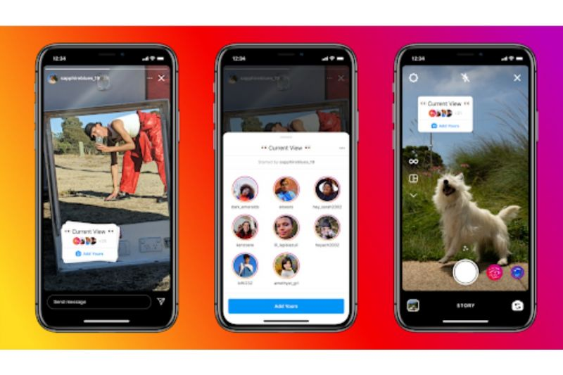 Instagram uji coba fitur stiker berbalas konten di Stories
