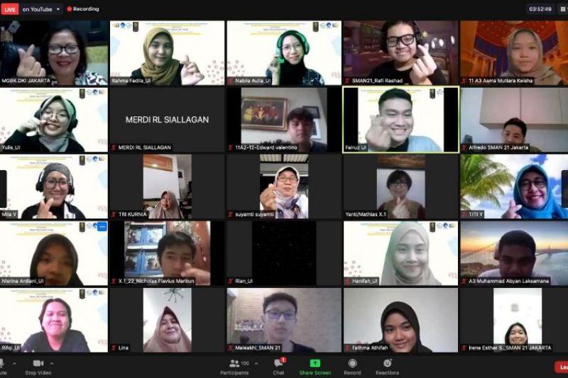 Universitas Indonesia latih siswa SMA hidup sehat tanpa hoaks
