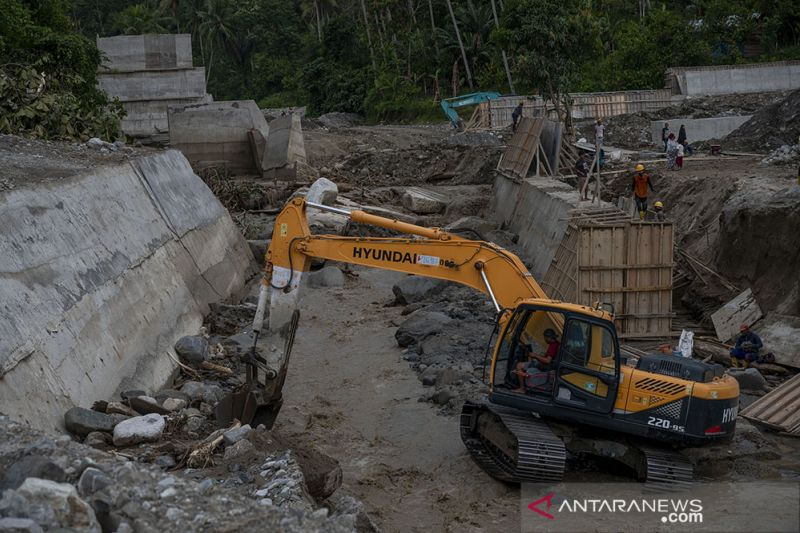 Sabo Dam di Desa Salua Rusak Akibat Banjir