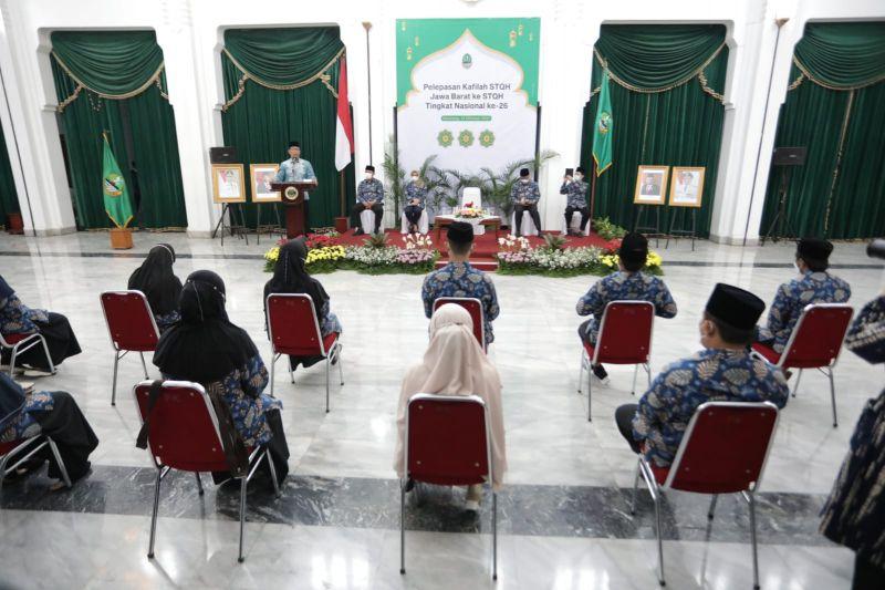 Gubernur targetkan Jabar juara umum STQH 2021