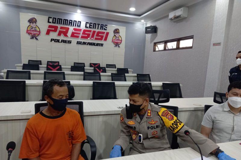 Petani tersangka kasus kekerasan ditangkap Polres Sukabumi