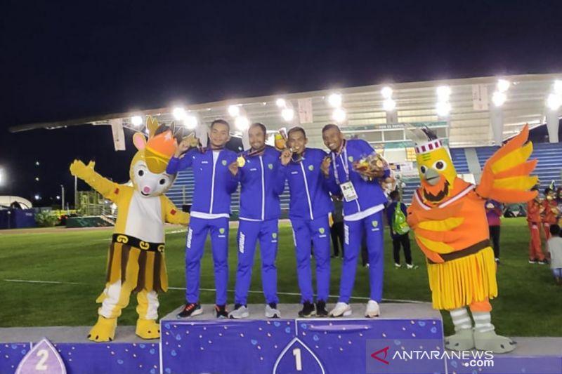 Jawa Barat berjaya rebut emas 4x400 meter estafet putra PON Papua