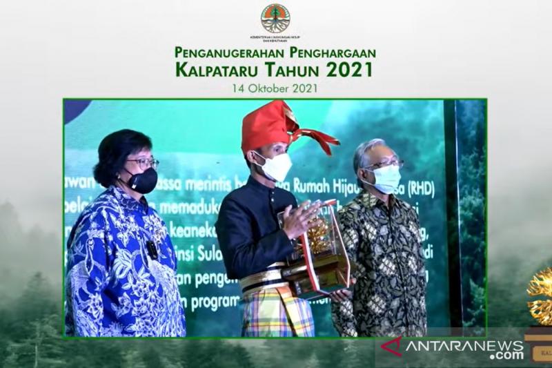 KLHK anugerahan Kalpataru 2021 kepada 10 pejuang lingkungan, siapa saja?