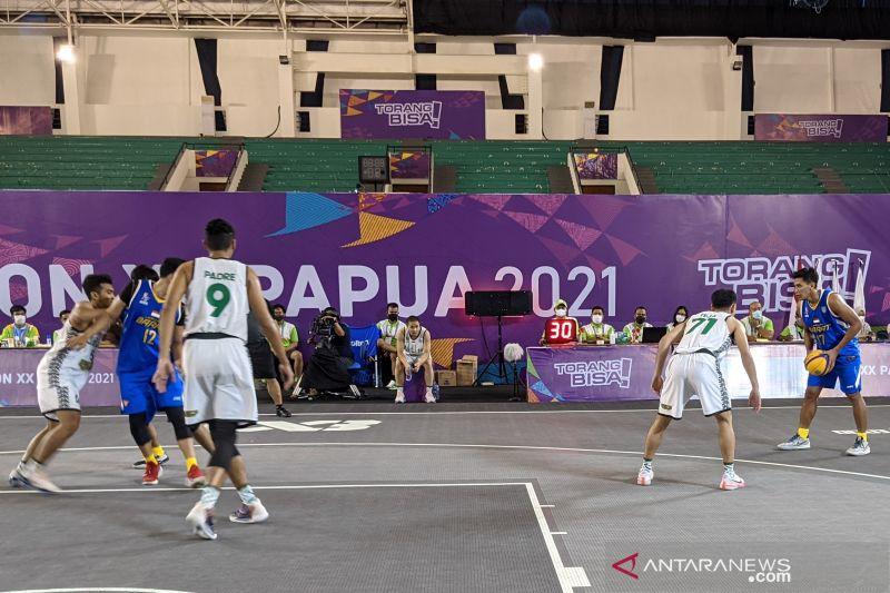 Jabar singkirkan Jatim untuk maju ke final basket 3x3 putra