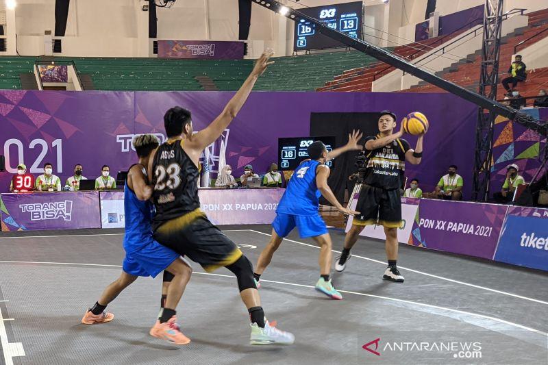 Tim putra DKI Jakarta melaju ke final basket 3x3 hadapi Jabar
