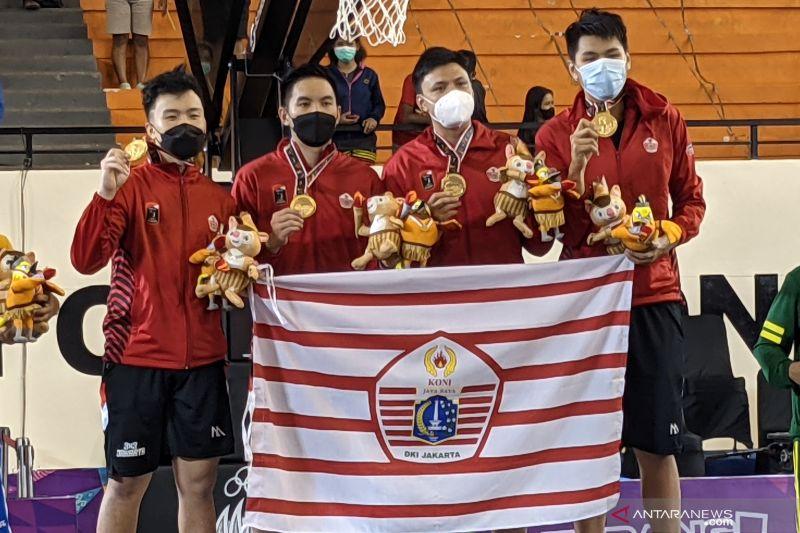 Kalahkan Jabar, bola basket 3x3 putra DKI Jakarta rengkuh medali emas