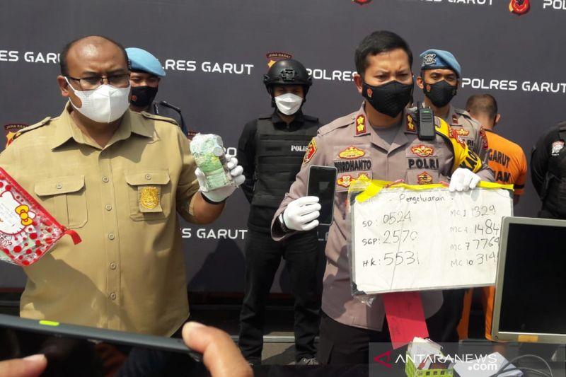 Pengepul judi daring di Garut terancam hukuman 10 tahun penjara