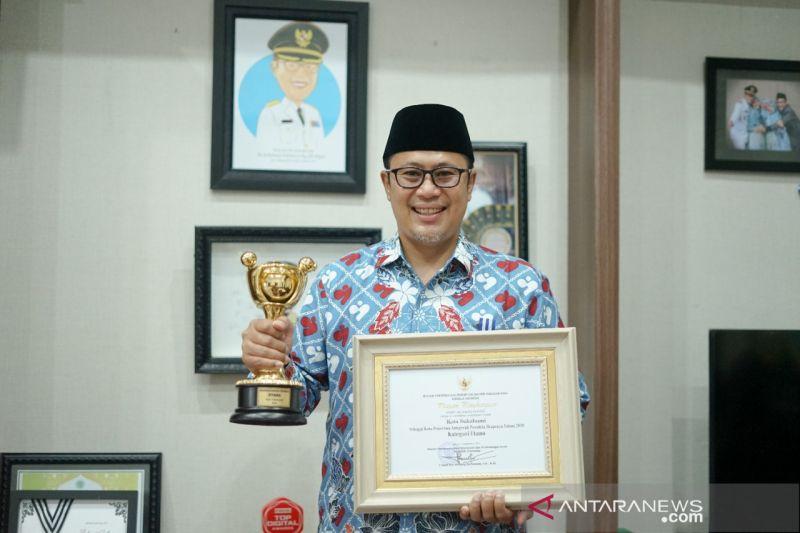 Pemkot Sukabumi raih penghargaan Anugerah Parahita Ekapraya