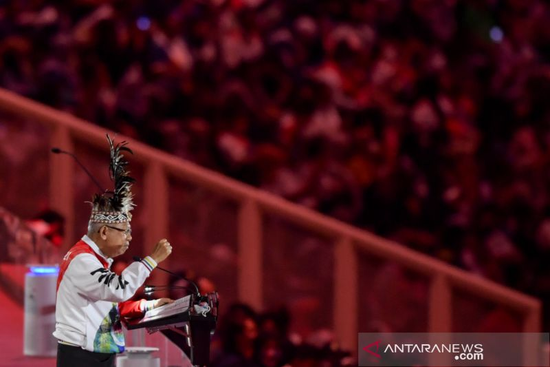 Wapres mencatat PON XX Papua tidak mudah diselenggarakan