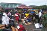 Rekonstruksi dugaan pembunuhan istri oknum TNI digelar di Mapolres Tapteng