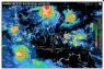Sebagian besar wilayah Indonesia  diprakirakan cerah berawan