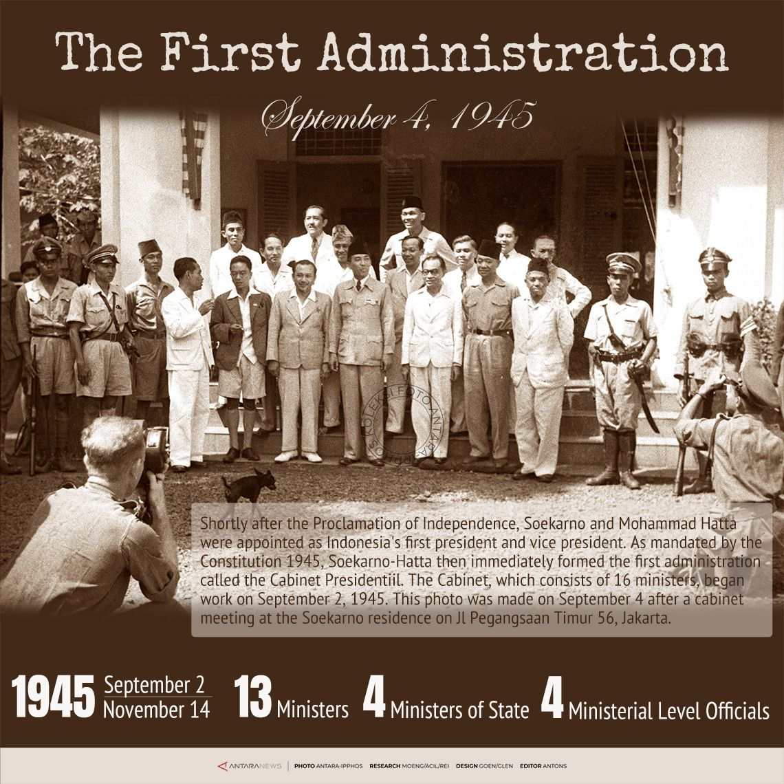 Indonesia's First Administration